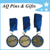High Quality Medals with Blue Ribbon