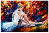 Wholesale High Quality Decoration Oil Painting, Knife Painting for Scenery for Gallery
