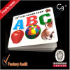 China Cheap Full Color Hardcover Cardboard Child Book Printing, Sticker Book Printing, Kids Board Book Printing