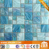 Ocean Blue Color Mix Size Swimming Pool Glass Mosaic (H455021)