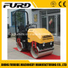 Oversea Salable Mini Compactor Mini Road Roller, Double Drum Roller Japan Engine (FYL-900)