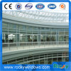 Frameless Glass Curtain Wall for a Car Sales Shops