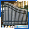 Double Walk Wrought Iron Gate