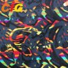 Multi - Colors Screen Printing Auto Upholstery Fabric with 140-150cm Width