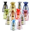 Fashion Drawstring Organza Pouch for Gift Beverage Bottle Bag