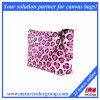 Pink Cheetah Facric Cosmetic Bag Makeup Pouch