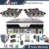 Outdoor Full HD 8CH 1080P Ahd CCTV Camera DVR Kit
