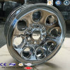 4X4 Truck Full Face Chrome Steel Wheel Rims