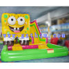 Animal Inflatable Bouncers/Inflatable Castle with HD Cartoon Printing