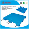 Warehouse Products Plastic Tray 1200*1200*140mm HDPE Flat Heavy Duty Dynamic 1.5t Plastic Pallet with 4 Steel
