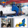 Pipe Shot Blast Machine for Steel Plate Surface Outer and Inner Cleaing