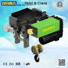 2m/M5 European Type Electric Wire Rope Hoist 3ton