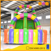 Gym Equipment Colorful Inflatable Circus Clown Slide (AQ976)