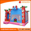 2018 Inflatable Jumping Moonwalk Elephant Bouncer with Slide (T3-096)