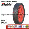 274X58 Cart Wheel Solid Rubber Tires for Sale