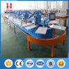 Full Automatic Oval 4/6/8/10/12/14/16/18 Color Silk Screen Printing Machine