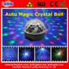 RGB Auto Magic Crystal Ball LED Family Party Disco Light