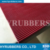 Red Color Antislip Rubber Sheet, Fine Ribbed Rubber Sheet