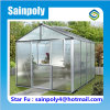 Small Commercial Used PC-Sheet Garden Greenhouse
