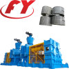 Roller compaction compactor for ammonium sulfate crystal powder