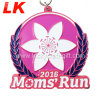 Personalized Design Sport Metal Medal with Medal Ribbons
