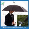 Fancy Automatic Open Play Golf Ball Arm Head Umbrella for Rain and Sports