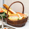 Canton Fair Enco-Friendly Customized Wicker Willow Food Safe Bread Basket