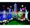 LED Lighted Statue of Liberty for Christmas Theme Event Decoration