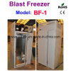 Stainless Steel Quick Freezer Temperature -35degree C with Single Trolley