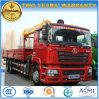 Shacman 10tons Foldable Arm Crane Lorry Truck Mounted Crane
