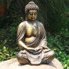 Cheap Interior and Outdoor Decoration Resin Meditation Small Buddha