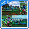 Outdoor Jumper Team Adult Inflatable Obstacle Course, Workout Obstacle Game