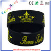 Festival Custom Colorful Silicone Rubber Wrsitband Bracelet for Gifts