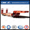 Cimc 2 Axle Low Bed Lowboy Semi-Trailer