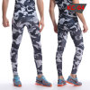 Camouflage Long Fitness Pants Running Gym Leggings Mens Sporting Tights Pants