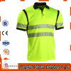 Reflective Strip High Visibility Safety Polo T-Shirt of 100% Cotton