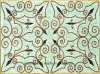 Wall/Floor Art Natural Marble Pattern Mosaic 1200X1800mm