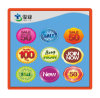 Removable Adhesive Sticker/Colorful Sticker Label for Promotion