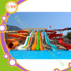 Water Park Slide Fiberglass Closed Spiral Black Hole Slide From Cowboy