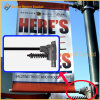 Metal Street Light Pole Advertising Banner Stand (BS-BS-017)
