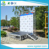Outdoor Event Stage Height Adjustable Stage Stair Metal Truss Lecterns Truss Podiums