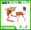 Cheap School Student Study Desk with Chair (SF-44S)
