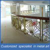 Customized Golden Indoor Stainless Steel Stairs Handrail for Hotel/Club