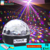 High Quality LED Crystal Magic Ball Disco Magic Light with MP3 Rgbywp LED Stage Light