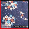 11oz Printing Denim Fabric Non Stretch Floral Printed Jean Fabric