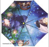 Automatic Open and Closed Full Printing Foldable Umbrella