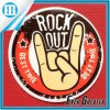 Imitation of The Old Paper Rock out Sticker Custom Design