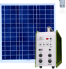 Solar Lighting System with Remote Control & 4PCS Lights Szyl-Slk-7010