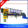 China Gantry CNC Strip Flame Cutting Machine for Steel Beams Fabrication