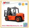 5 Ton Diesel Forklift with Cabin and Double Front Tire